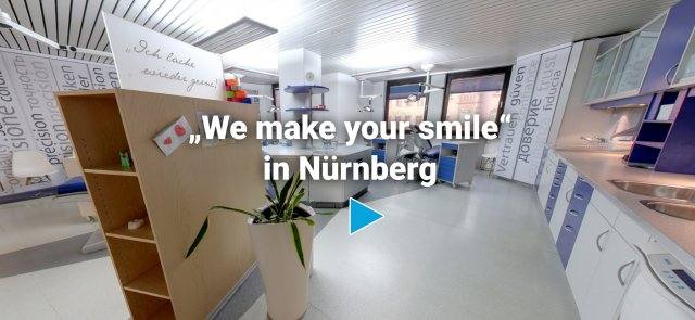 »We make your smile« in Nürnberg